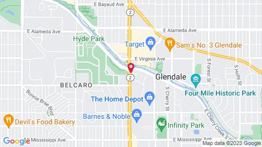 Hilton Garden Inn Cherry Creek Map
