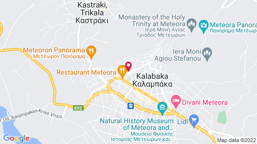 Mythos Guesthouse Map