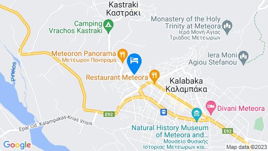 Hotel Kastraki Map