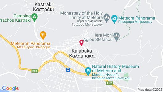 Epavlis Meteora Suites Hotel Map
