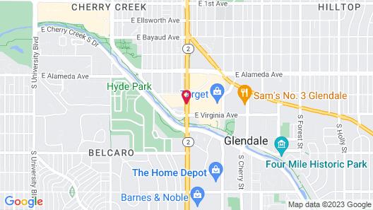 DoubleTree by Hilton Denver Cherry Creek Map