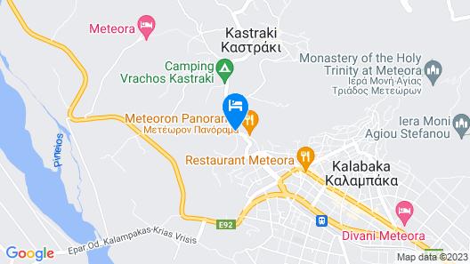 Dellas Boutique Hotel Map