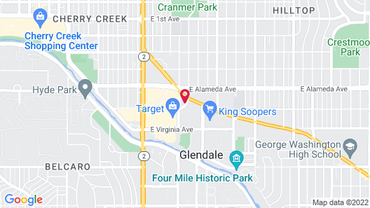 Extended Stay America Suites Denver Cherry Creek Map