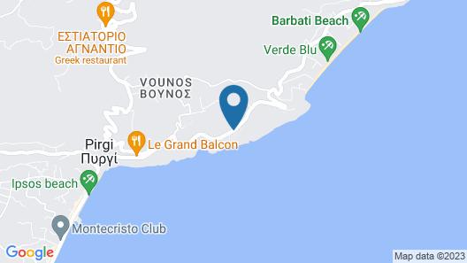 Corfu Luxury Villas Map