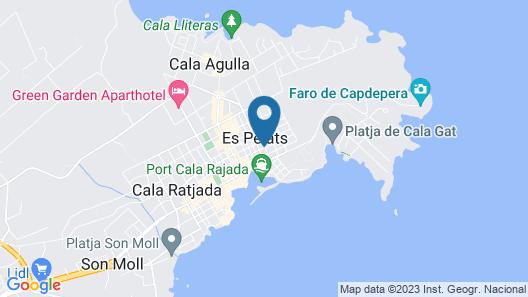Singular Cala Ratjada By Eurotels Map