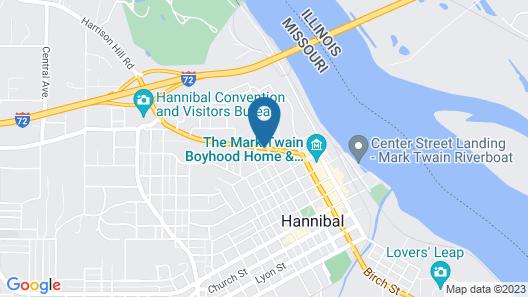 Country Hearth Inn Hannibal Map