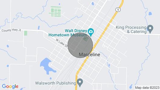 Marceline Mural Motel Map