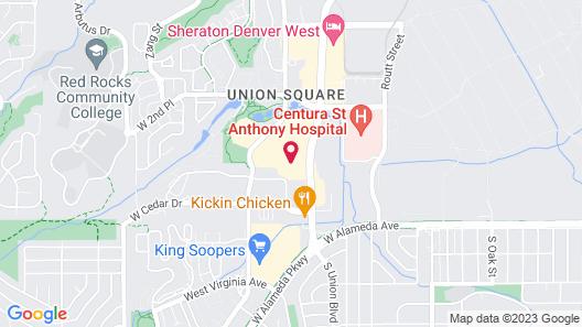 Hampton Inn Denver West Federal Center Map
