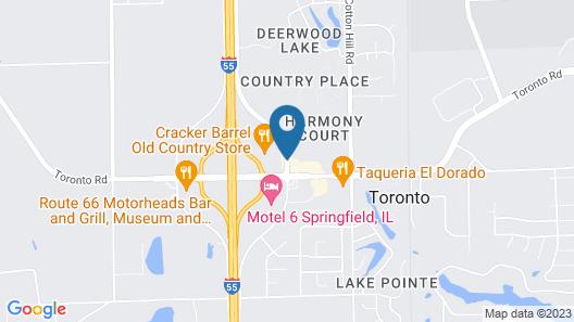 Days Inn by Wyndham Springfield Map