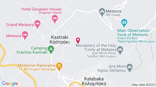 Archontiko Mesohori Map