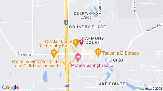 Baymont by Wyndham Springfield Map