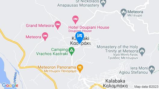 Meteoritis Hotel Map