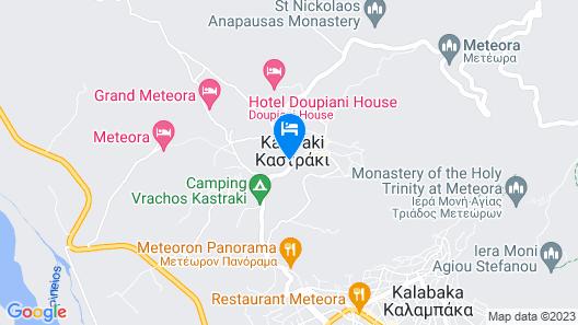 Guesthouse Sotiriou Map