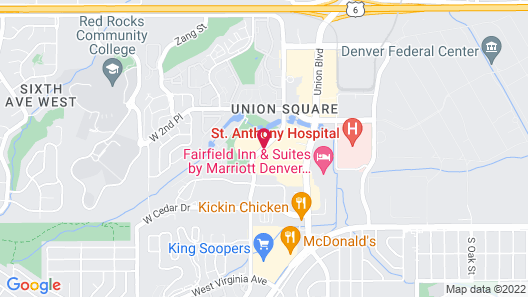 Homewood Suites by Hilton Denver West Lakewood Map