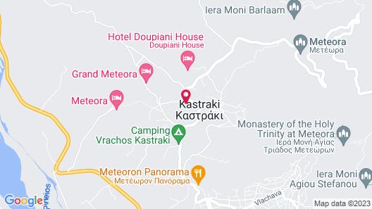 Tsikeli Hotel Meteora - Adults Only Map