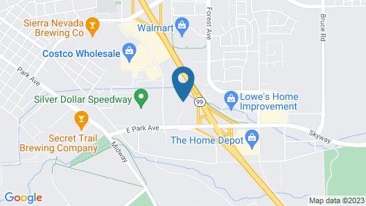 Residence Inn by Marriott Chico Map