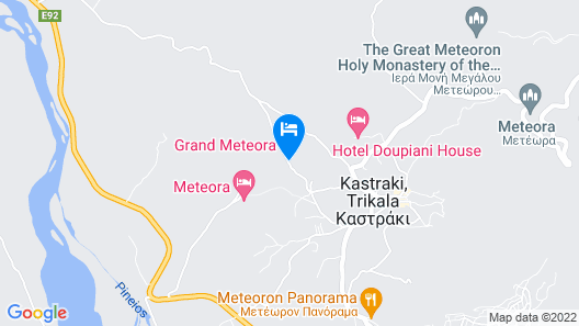 Grand Meteora Hotel Map