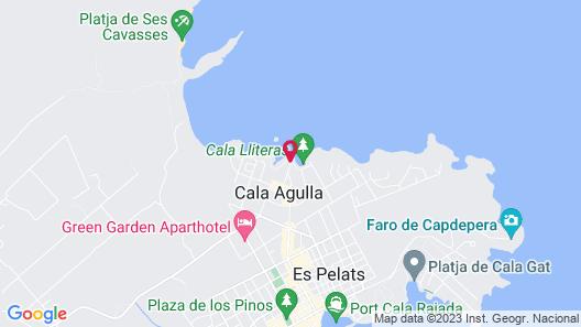 Aparthotel THB Guya Playa Map