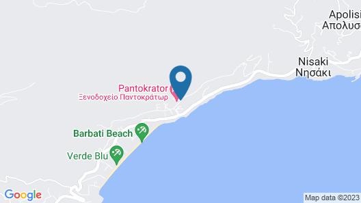 Pantokrator Hotel Map