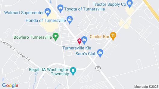 Mayfair Motel Map