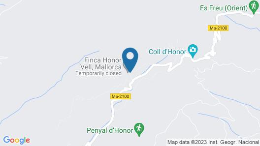 Hotel Rural S'Era Vella Map