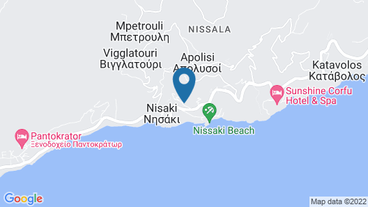 Alkinoi Seaview House by Konnect Map