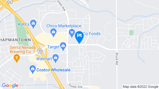 Holiday Inn Express And Suites Chico, an IHG Hotel Map