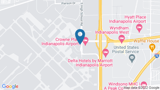 Clarion Hotel Airport Area Map