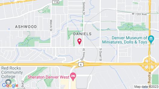 TownePlace Suites Denver West/Federal Center Map