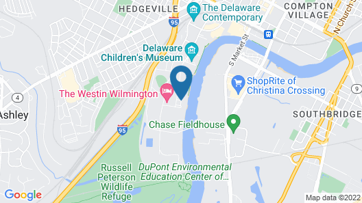 Homewood Suites by Hilton Wilmington Downtown Map