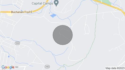 Mountaintop Retreat Center Villa With Wifi, Basketball Court & Beautiful Trails Map