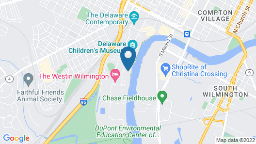 Hyatt Place Wilmington Riverfront Map