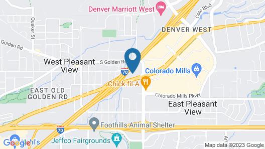 Aiden by Best Western @ Denver West/Golden Map