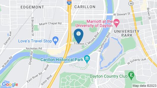 Courtyard by Marriott Dayton-University of Dayton Map