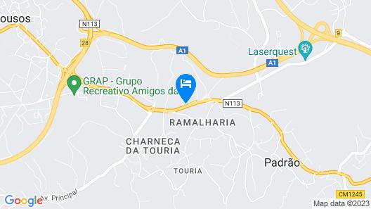 Hotel Solar da Charneca Map