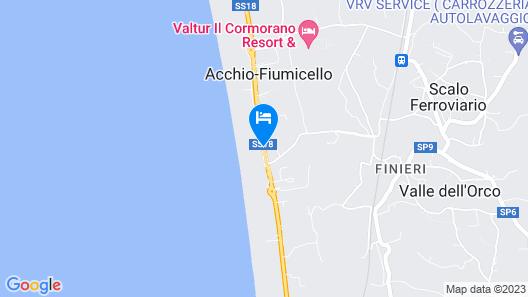 Villaggio Camping Orchidea Map