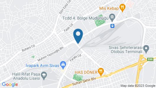 The Green Park Sivas Map
