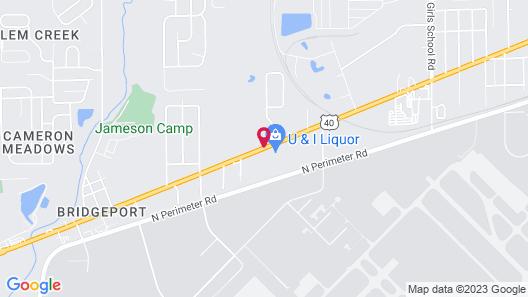 Catalina Airport Motel Map