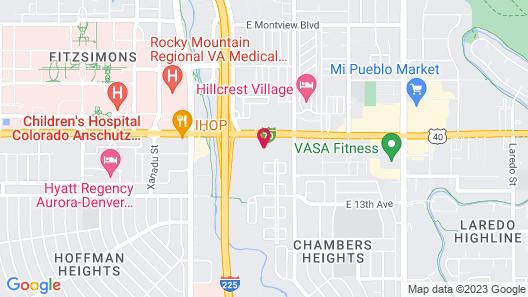 Holiday Inn Express & Suites Denver - Aurora Medical Campus, an IHG Hotel Map