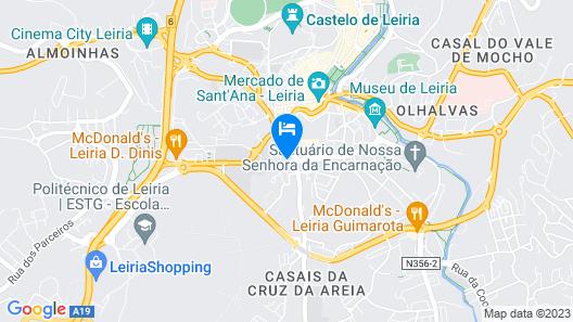 Eurosol Leiria & Jardim Map