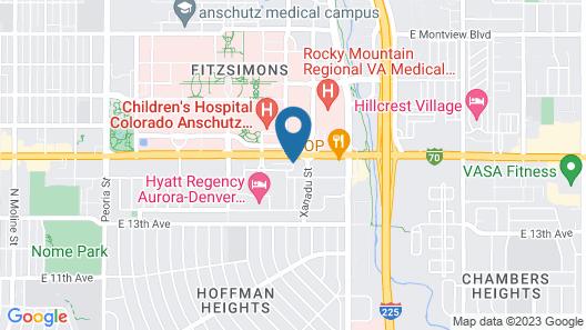 SpringHill Suites by Marriott Denver Anschutz Medical Campus Map