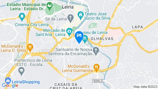 São Luis Hotel Map