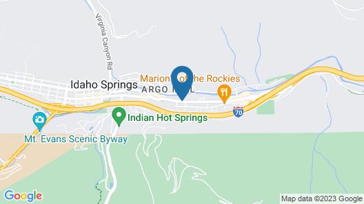 H & H Motor Lodge Map