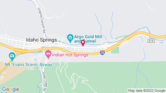 Argo Inn and Suites Map