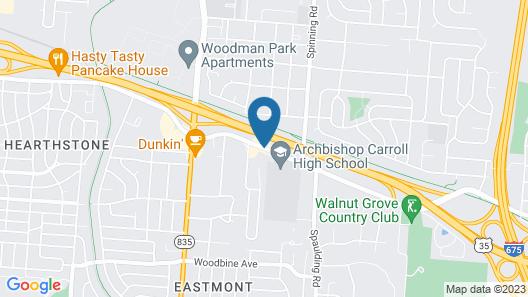 Microtel Inn & Suites by Wyndham Dayton/Riverside OH Map
