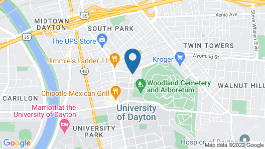 Guesthouse Rooms on Rogge Street Map