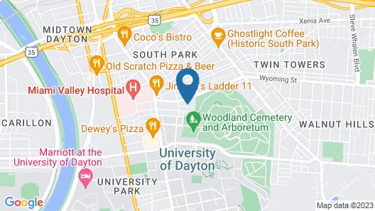 UDGuestHouse Map
