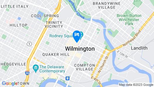 Luxiasuites Rodney Square Map