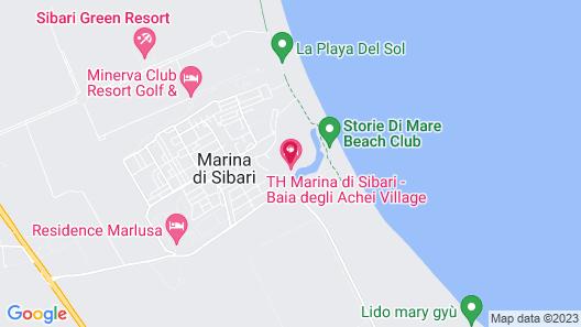 TH Marina di Sibari - Baia degli Achei Village Map