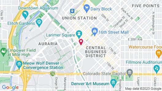 Hotel Teatro Map